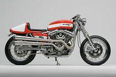Harley XRTT Cafe Racer