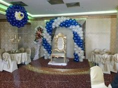 Sünnet düğünü balon süsleme