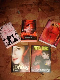 Red covers which I adore!
