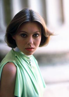 Jenny Agutter during production of Michael Anderson's LOGAN'S RUN (1976)