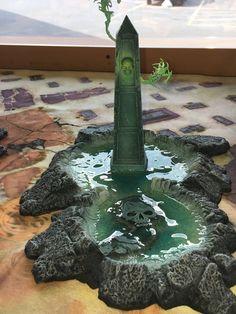 Game Terrain, 40k Terrain, Wargaming Terrain, 28mm Miniatures, Fantasy Miniatures, Warhammer Fantasy, Warhammer 40k, Summoning Circle, Warhammer Terrain