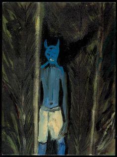 CHOCHLIK BLUE.peter doig