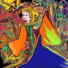 "Saatchi Art Artist Oksana Linde; New Media, ""Irie"" #art"