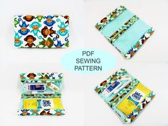 Instant download PDF sewing tutorial and pattern by purseNmore