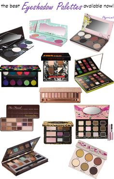 Best Cruelty Free Eyeshadow Palettes available now!