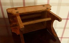 Vintage-table-money-box Money Box, Vintage Table, Stool, Arts And Crafts, The Originals, Antiques, Furniture, Ebay, Home Decor