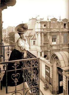 Imágenes de 1900.- #París