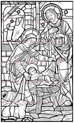Nativity Mural · Art Projects for KidsNativity Stained Glass Coloring Pages - WeSharePicsMy Nativity mural collaborative art project is great for schools or any group that wants to create something special by working together.Jesus Christ Coloring P Nativity Coloring Pages, Jesus Coloring Pages, Christmas Coloring Pages, Coloring Pages For Kids, Coloring Books, Christmas Nativity, Christmas Art, Christmas Bells, Collaborative Art Projects