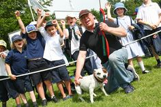 Dog Agility at the Lincolnshire Show