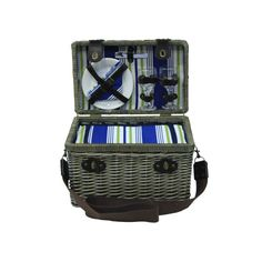 Y481 AEGEAN 2 Person Picnic Basket
