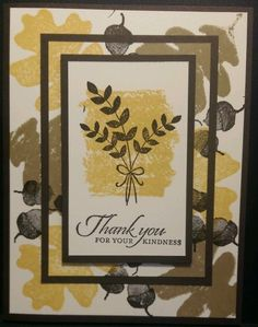 Stampin Up For All Things Thank You Card Kit w/envelopes #StampinUp