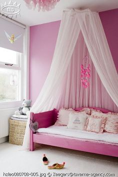 spruce up a girls bedroom and guarantee theyll love the design even as they  get older. Rose quartz are incorporated on the bedside table, bedspread, ...
