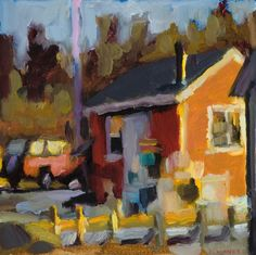 No Fog Today by Connie Hayes one of my absolutely favorite painters