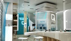 IQOS Flagship Store, Chiado - Lisboa   Philip Morris on Behance Office Interior Design, Office Interiors, Camera Store, Everything Changes, Graphic Design Services, Showroom, Keep It Cleaner, Behance, Mirror