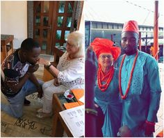 A Nigerian man, Onoriode Samuel from Delta state has tied the knot with his much older white lover, Anna Maria in a low-key ceremony rece. Lovers Photos, Nigerian Men, Trending Topics, Tie The Knots, Low Key, Got Married, Girlfriends, Fashion Beauty, Entertaining