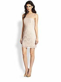 A lot of times you celebrities wear a second dress for the rehearsal or later on in the night. This dress still keeps the bridal feel going.