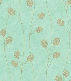 Blue Rose Wallpaper: Duck Egg Blue Wallpaper