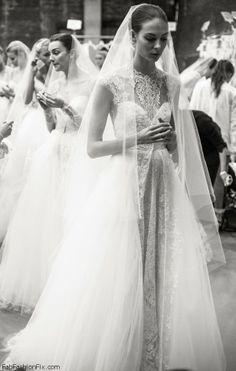 2015 Monique Lhuillier Bridal collection | ... Fabulous Fashion Fix | Monique Lhuillier Spring 2015 Bridal collection