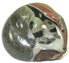 Anteater Wounaan Tagua Carving 28645   eBay