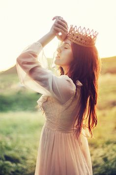Visualize yourself as the QUEEN of your life story and act as if it were true. Make it matter.