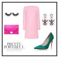 """pretty powerful"" by paulina-932-7 on Polyvore featuring moda, Dolce&Gabbana, RALPH & RUSSO, Valentino y Loeffler Randall"