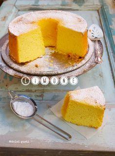 fluffosa al limone, fluffosissima al limone, chiffon cake al limone, | Dolci Gusti