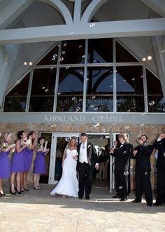 Outside of Chapel #LoughridgeWeddings #KirklandChapel #WeddingVenues