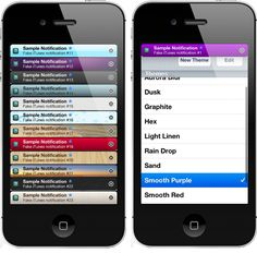 BannerImage - Custom iOS banner notifications/ alerts with color styles and background images