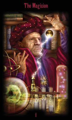 1 - Le magicien - Legacy of the Divine Tarot par Ciro Marchetti
