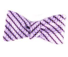 Purple Textured Patterned Bow Tie for Men - Purple Bow Tie, Tie Colors, Bowties, Purple Wedding, Suits, Weddings, Modern, Accessories, Ideas