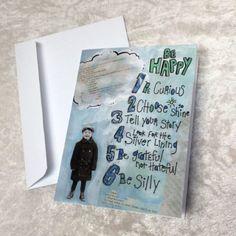 Boy Be Happy Notecar