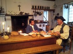 Chef Vicky enjoys a feed of #MiraBay's #snowcrab at Fortress Louibourg Historic Site, #CapeBreton