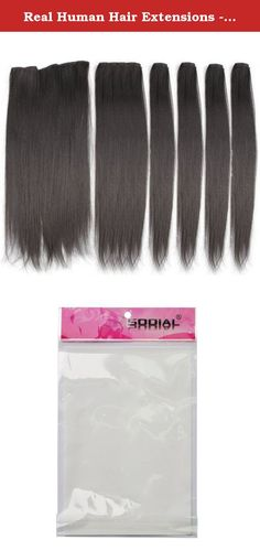 Real Human Hair Extensions - TOOGOO(R) Hairpiece 23inch 140g Straight 16 Clips in False Hair Styling Synthetic Clip In Hair Extensions 6pcs/set Heat Resistant Hair Pad BLACK. * TOOGOO is a registered trademark. ONLY Authorized seller of TOOGOO can sell under TOOGOO listings.Our products will enhance your experience to unparalleled inspiration. TOOGOO(R) Hairpiece 23inch 140g Straight 16 Clips in False Hair Styling Synthetic Clip In Hair Extensions 6pcs/set Heat Resistant Hair Pad BLACK…