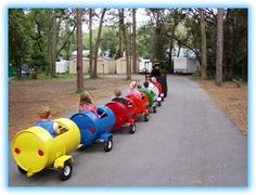 why not have a train at your party?