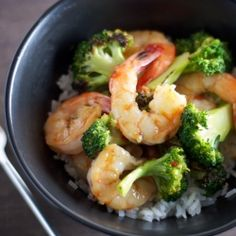 Shrimp and Broccoli Stir-Fry with Sweet Chili Sauce - Dinner can be on the table in 20 minutes!