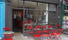 Brill coffee shop, Exmouth Market, London