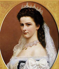 Wedding photo of the Empress Elizabeth