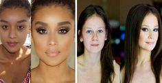 Ten makijaż zdziałał cuda! Zobacz, jak one teraz wyglądają!