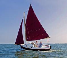 Or perhaps this one... PocketShip: 15-foot Fast-Sailing Pocket Cruiser with Sitting Headroom and 8-foot Berths!