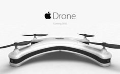 Siete fan di Apple? Ecco come potrebbe essere l'iDrone! #idrone #droni #apple