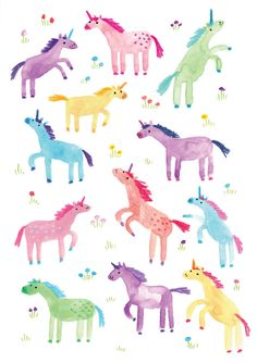 The colorful work of illustrator Lorna Scobie, on the blog today!