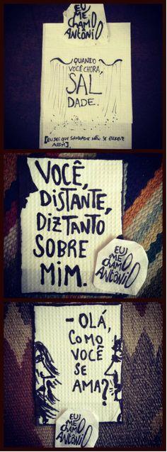Eu me chamo Antônio ♥
