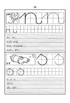 Foto: Tracing Letters, Preschool Letters, Preschool Worksheets, Alphabet Letters, Handwriting Worksheets, Handwriting Practice, Cursive, Christmas Color By Number, Alphabet Crafts