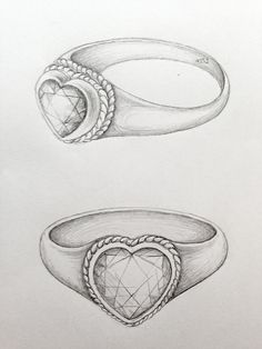 Heart ring @Katrine Hammer