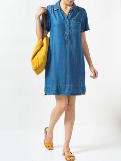 Indi & Cold Denim Dress   Maze Clothing