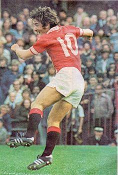 Lou Macari of Man Utd in 1978.