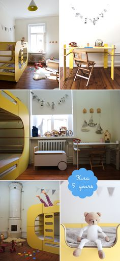 contemporary shared girls bedroom io kids design