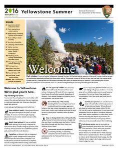 Official 2016 Park Newspaper
