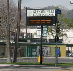 Granada Hills High School !!  Class of 1971....What memories......