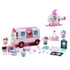 134948e0af31 Hello Kitty Rescue Set Medical Helicopter Emergency Ambulance Emergency  Ambulance